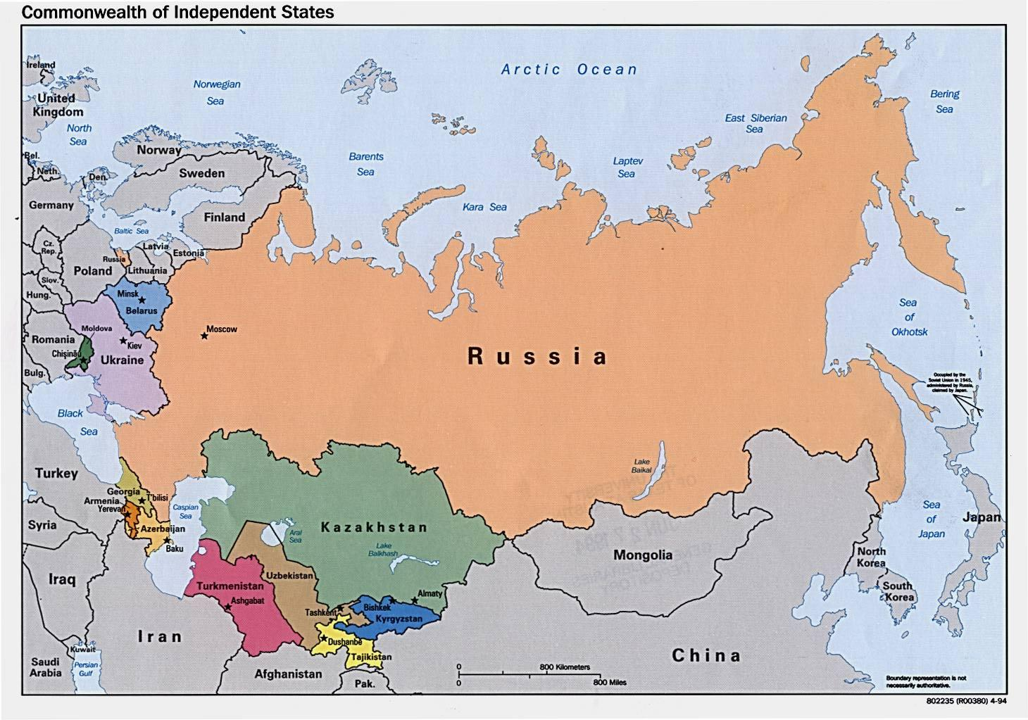 Map Of Germany And Russia.Map Of Russia A Map Of Russia Eastern Europe Europe