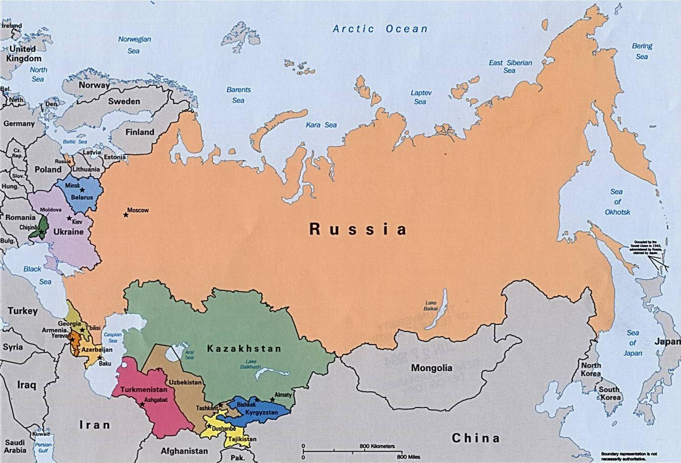 Russia Continent Map Russian Continent Map Eastern Europe Europe - What continent is afghanistan in