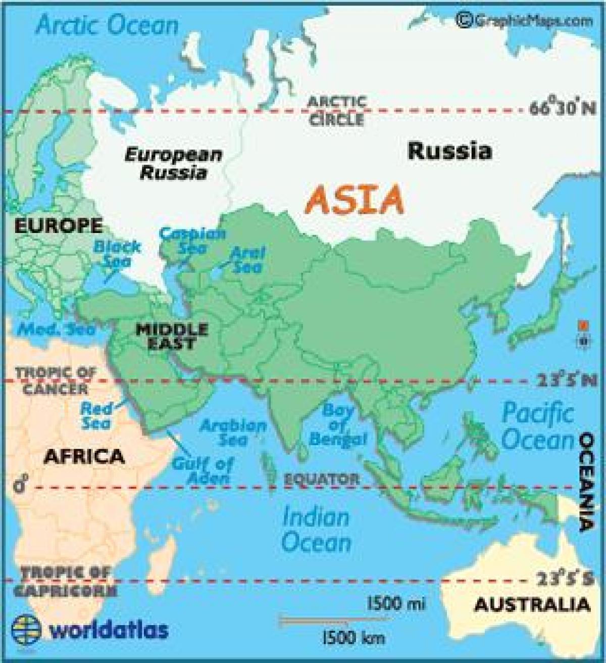 Europa Asia Cartina.Asia Russia Map Russia And Asia Map Eastern Europe Europe