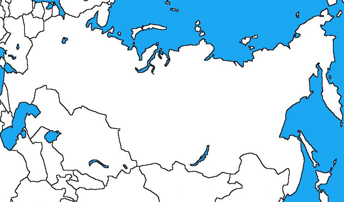 Image of: Russia Blank Map Russia Map Blank Eastern Europe Europe