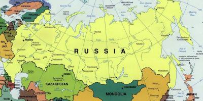 Map for Russia